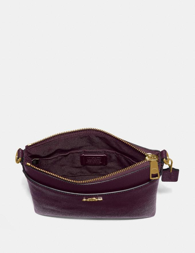 Coach Kitt Messenger Crossbody Oxblood/Gold Coach Exclusive Event Alternate View 1