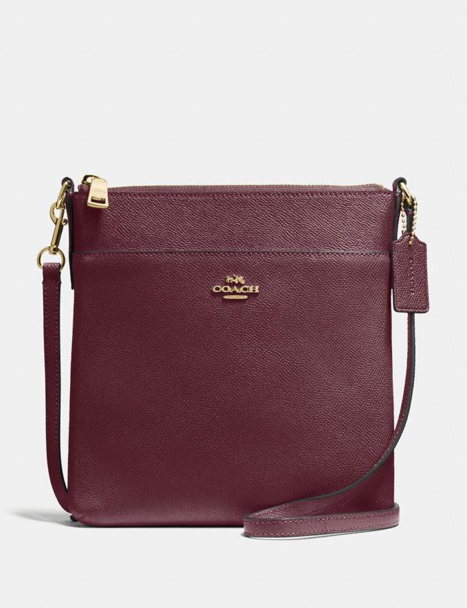 Coach Messenger Crossbody Vintage Mauve/Gold Gifts Featured