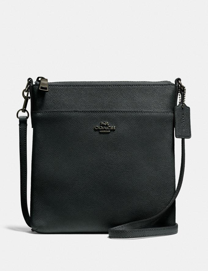 Coach Messenger Crossbody V5/Pine Green New Women's New Arrivals