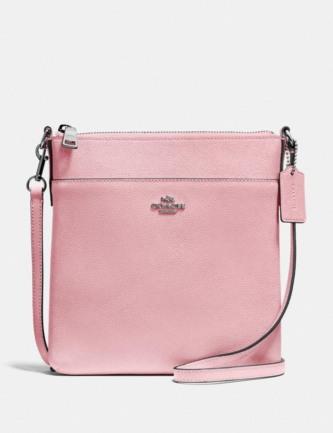 Coach Messenger Crossbody Pewter/Aurora New Women's New Arrivals