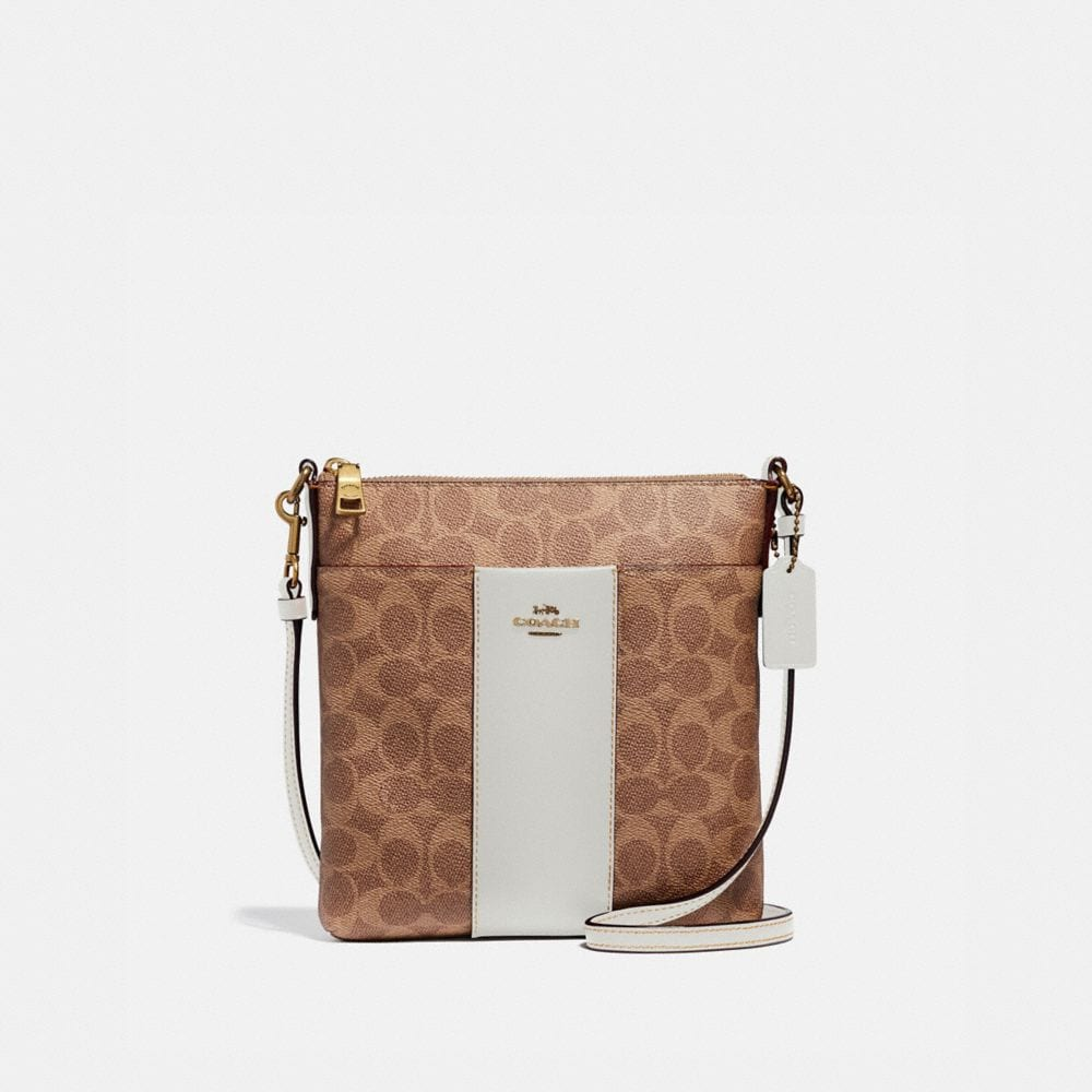 Coach Messenger Crossbody in Colorblock Signature Canvas