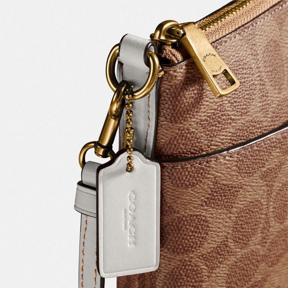 Coach Messenger Crossbody in Colorblock Signature Canvas Alternate View 3