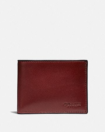 5753d838c1f1fa Men's Leather Wallets | COACH ®
