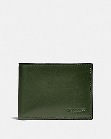 597d56608 Men's Leather Wallets | COACH ®