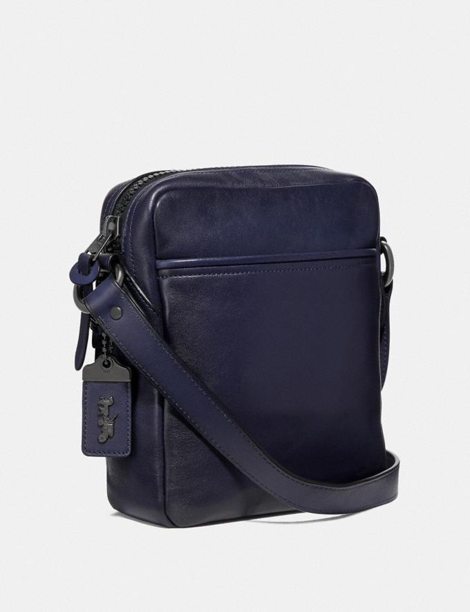 Coach Jaxson Bag 18 Cadet/Black Copper Men Bags Messenger Bags Alternate View 1