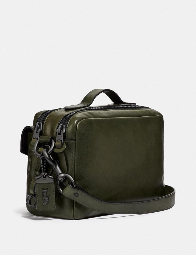 Coach Jaxson Bag 28 Wine/Black Copper SALE Men's Sale Alternate View 1