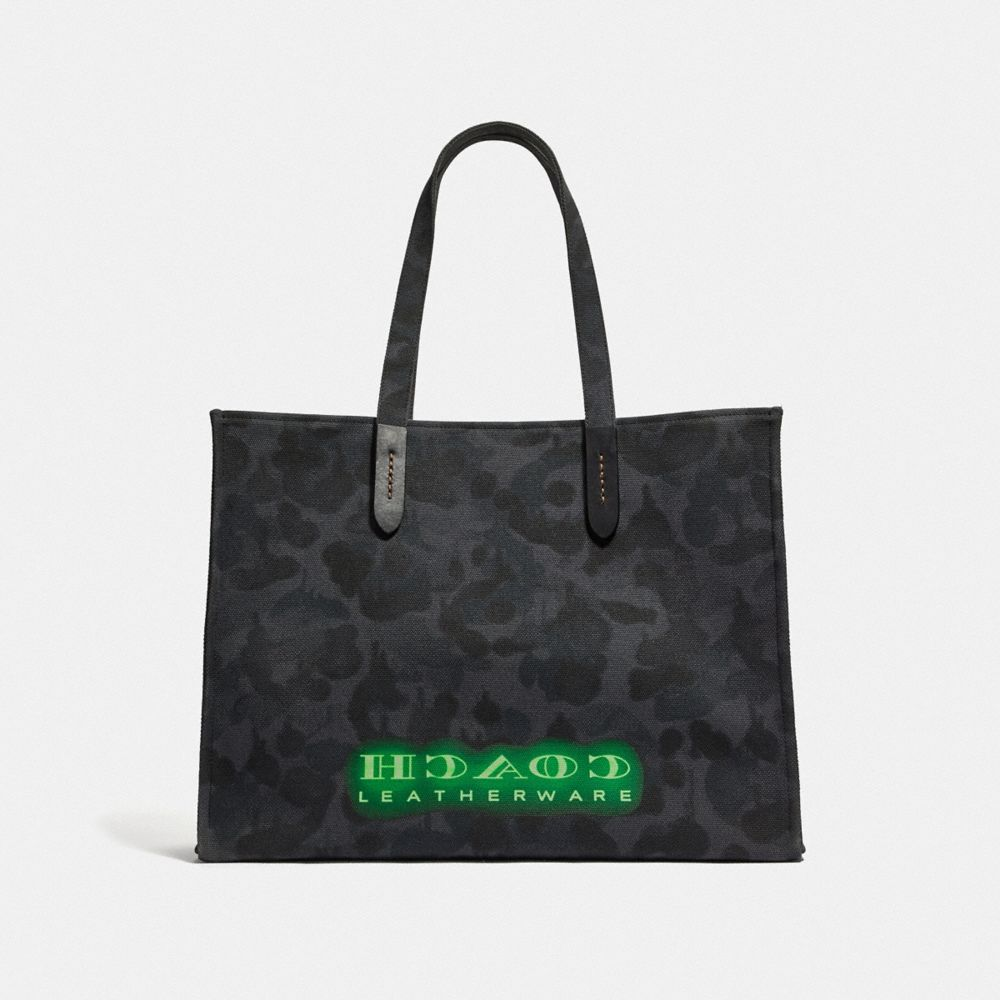 Coach Viper Room Tote 42 With Wild Beast Print Alternate View 2