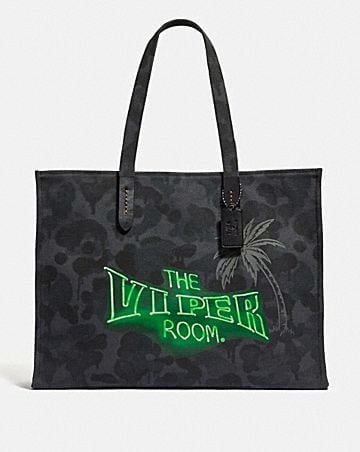 VIPER ROOM TOTE 42 WITH WILD BEAST PRINT