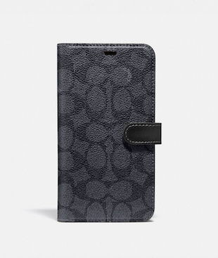 IPHONE 11 PRO MAX FOLIO IN SIGNATURE CANVAS