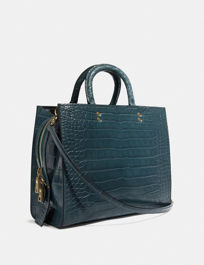 Coach Rogue in Alligator Brass/Blue New Featured Online Exclusives Alternate View 1