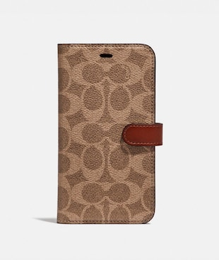 IPHONE 11 PRO FOLIO IN SIGNATURE CANVAS