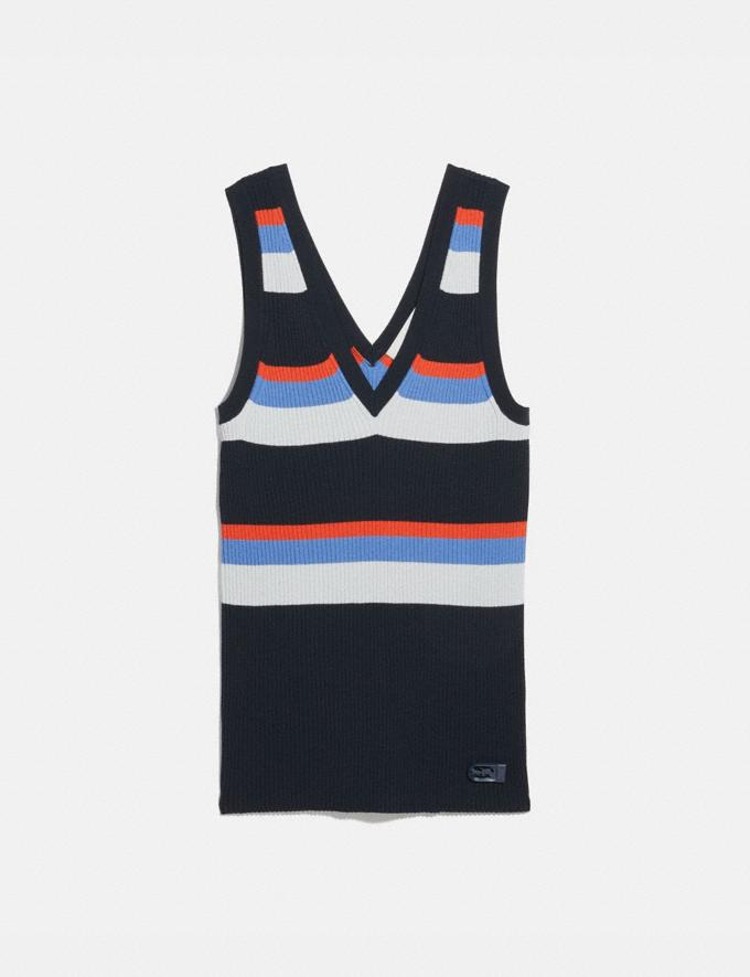 Coach Summer Tank Multi Women Ready-to-Wear Tops & T-shirts