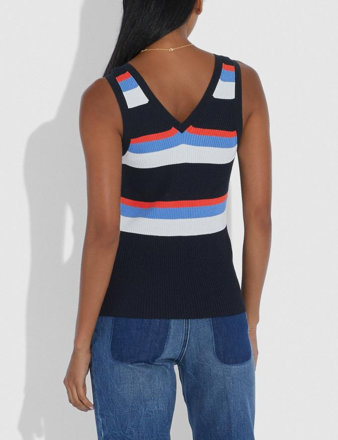 Coach Summer Tank Multi Women Ready-to-Wear Tops & T-shirts Alternate View 2
