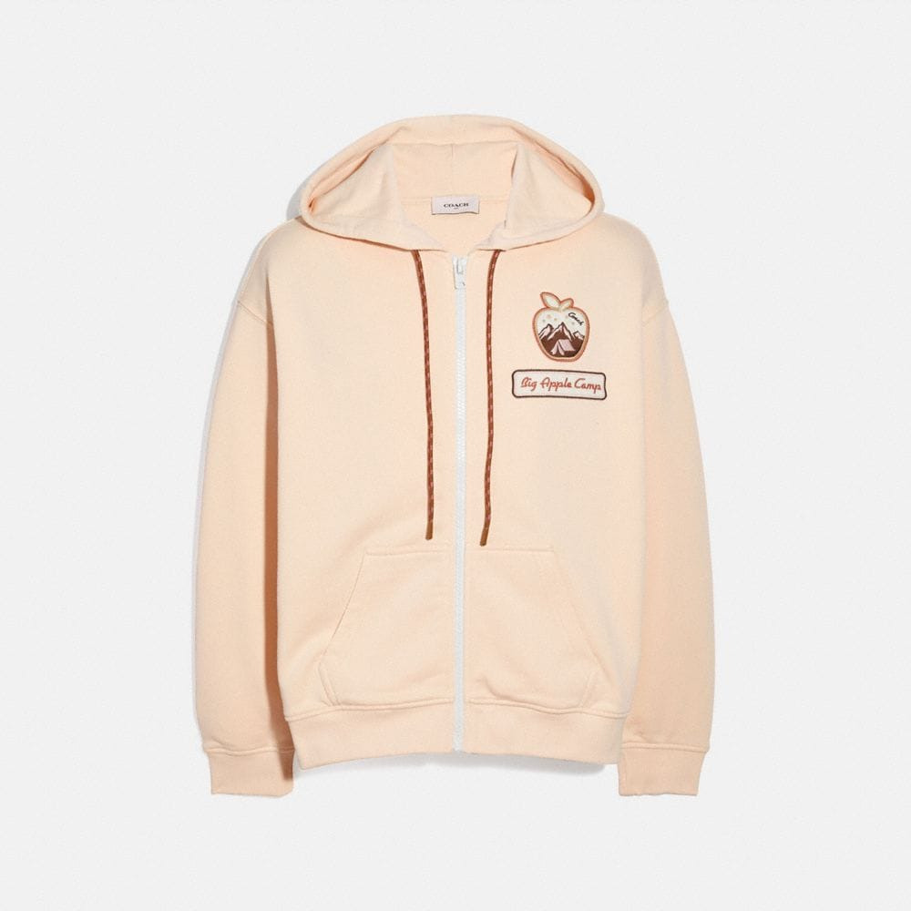 Coach BIG APPLE CAMP JERSEY HOODIE