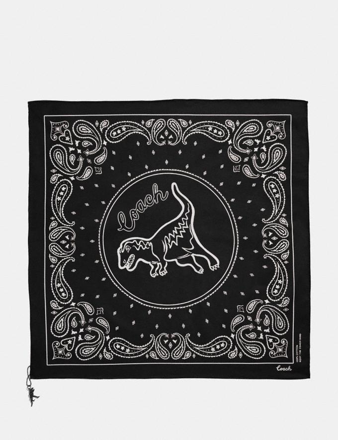 Coach Rexy Play Bandana Black/Chalk New Featured Rexy Collection