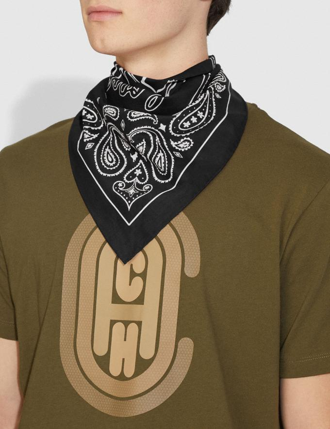 Coach Rexy Play Bandana Black/Chalk New Featured Rexy Collection Alternate View 1