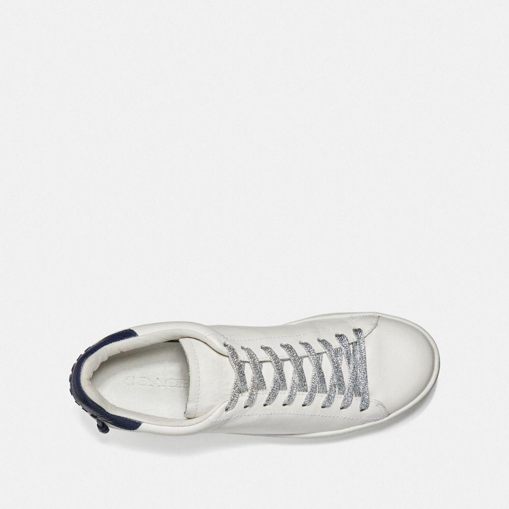 Coach Metallic Shoe Laces Alternate View 1