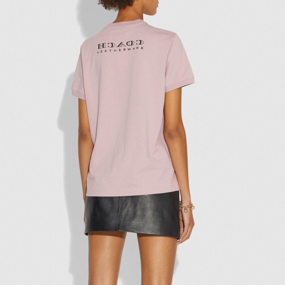 Coach Viper Room Embellished T-Shirt Alternate View 2