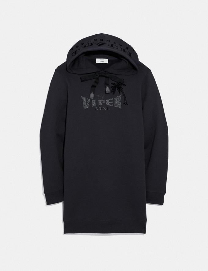 Coach Viper Room Sweatshirt Dress Dark Shadow SALE Women's Sale Ready-to-Wear