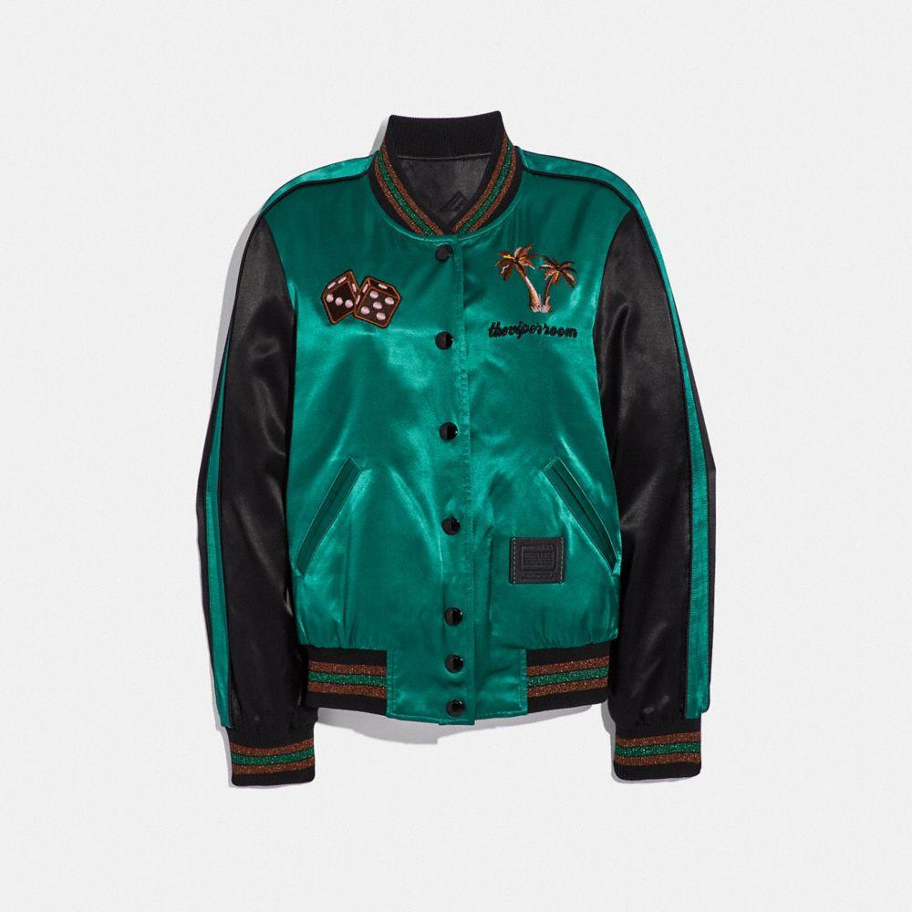 Coach Viper Room Reversible Souvenir Jacket
