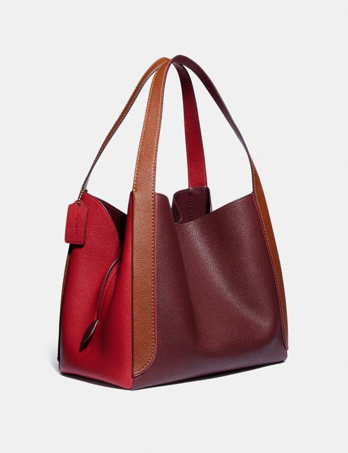 Coach Hadley Hobo in Colorblock B4/Red Apple Multi Cyber Monday For Her Cyber Monday Sale Alternate View 1