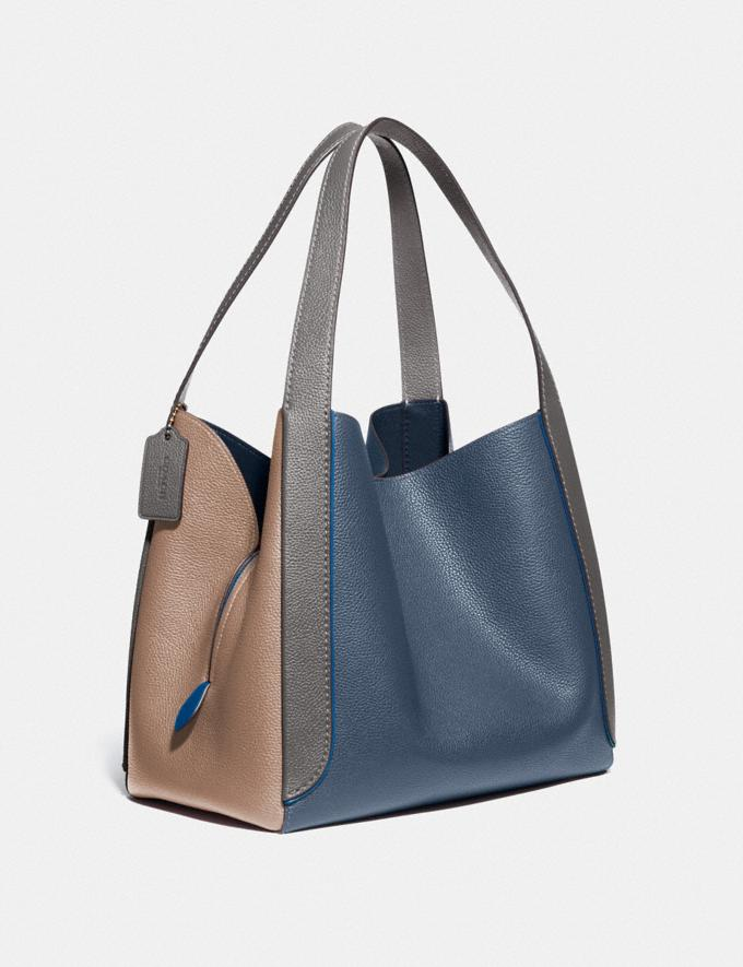 Coach Hadley Hobo in Colorblock B4/Dark Denim Multi Women Bags Shoulder Bags Alternate View 1
