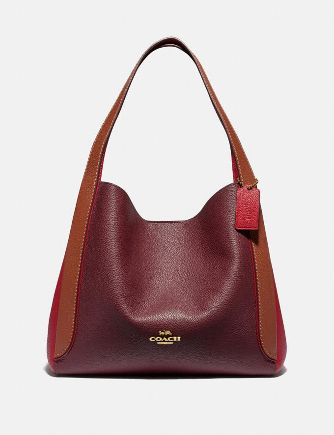 Coach Hadley Hobo in Colorblock B4/Red Apple Multi Cyber Monday Für Sie Cyber Monday Sale