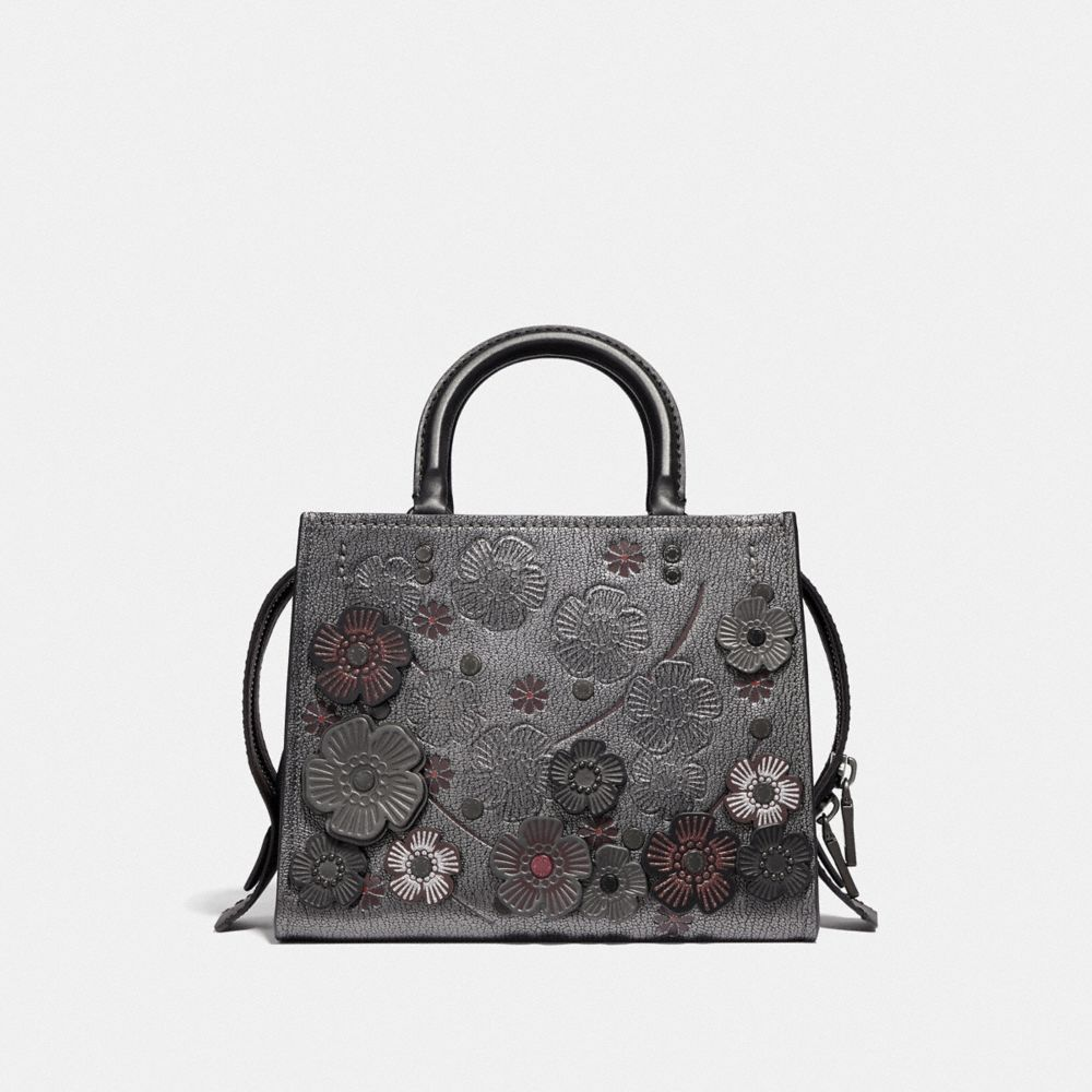 Coach Rogue 25 With Crystal Tea Rose Alternate View 2