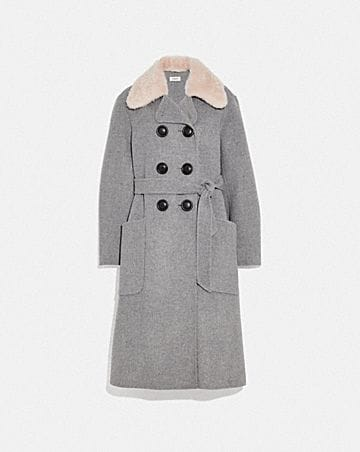 LUXURY WOOL TRENCH COAT