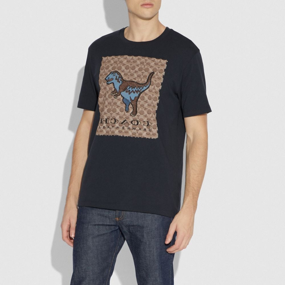 Coach Signature Rexy T-Shirt Alternate View 1