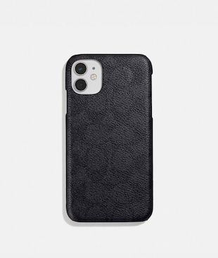 IPHONE 11 CASE IN SIGNATURE CANVAS