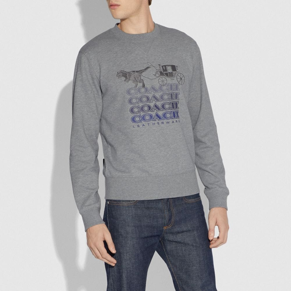 Coach Shadow Rexy and Carriage Sweatshirt Alternate View 1