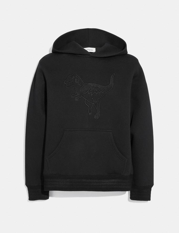 Coach Blackout Rexy Hoodie Black Men Ready-to-Wear Tops & Bottoms