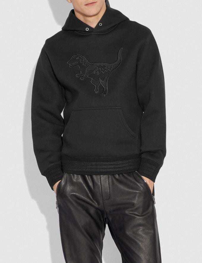 Coach Blackout Rexy Hoodie Black  Alternate View 1
