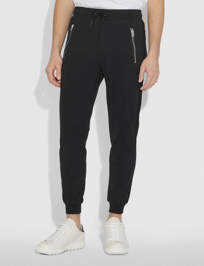 Coach Track Pants Black  Alternate View 1