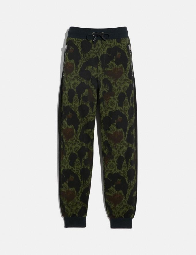 Coach Track Pants Wild Beast Floral