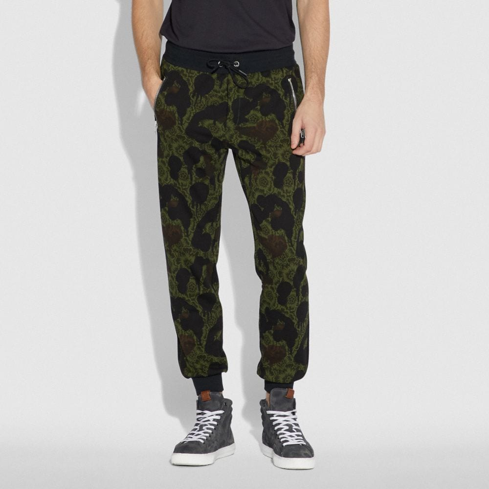 Coach Track Pants Alternate View 1