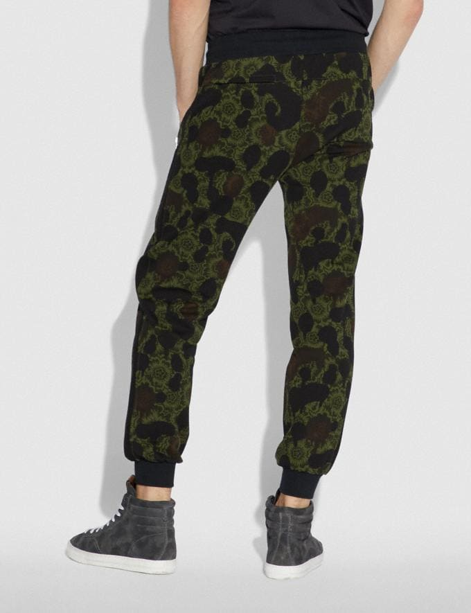 Coach Track Pants Wild Beast Floral  Alternate View 2
