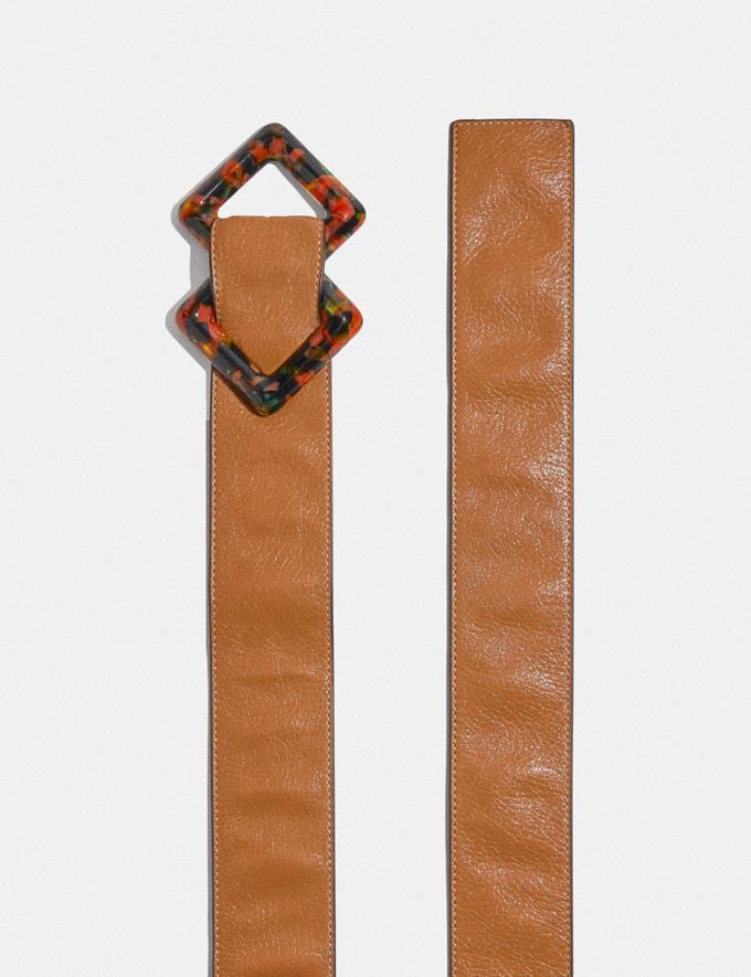 Coach Diamond Slider Buckle Belt, 45mm Penny Women Accessories Alternate View 1