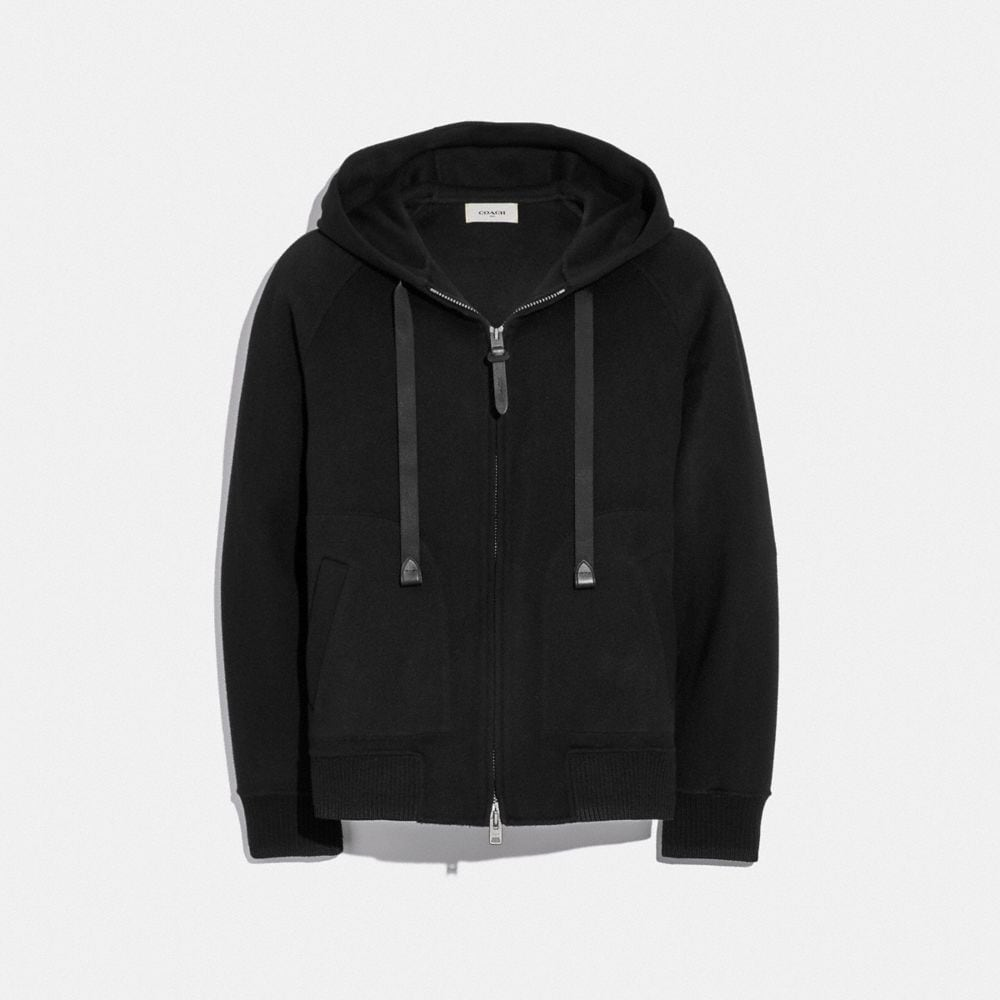double face hoodie