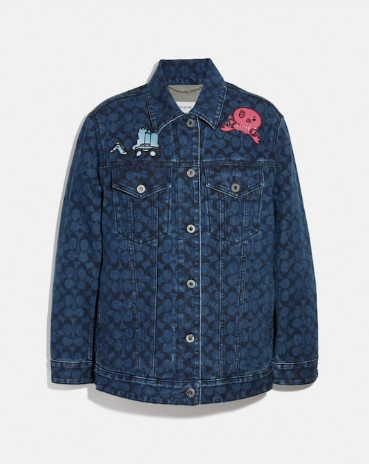 HORSE AND CARRIAGE DENIM JACKET