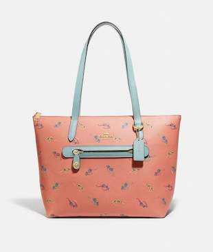 TAYLOR TOTE WITH SUNGLASSES PRINT