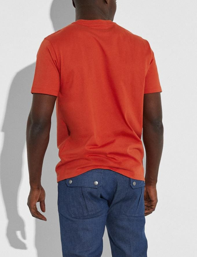 Coach Coach T-Shirt Mango New Men's New Arrivals Collection Alternate View 2