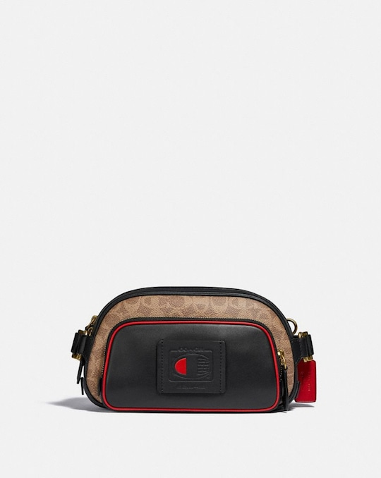 COACH X CHAMPION BELT BAG IN SIGNATURE CANVAS