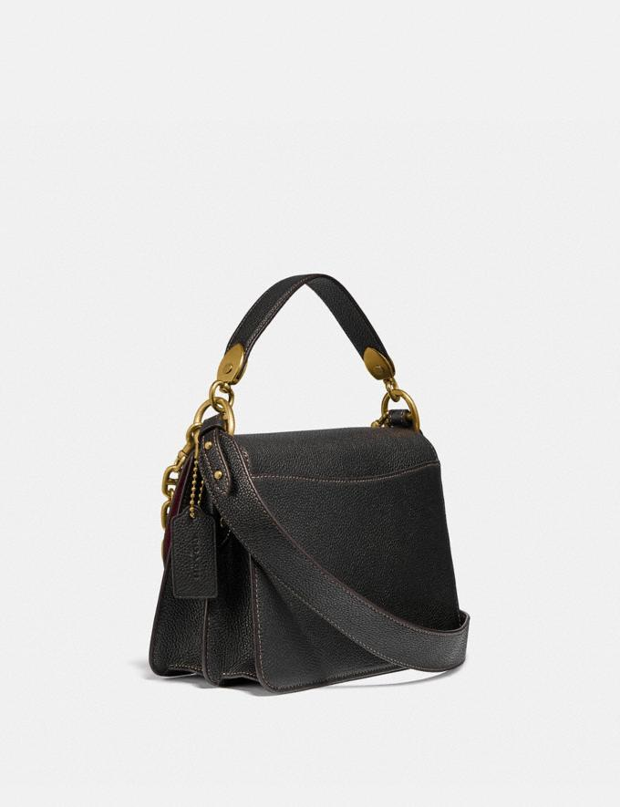 Coach Beat Shoulder Bag With Horse and Carriage Print B4/Truffle Black New Women's New Arrivals Bags Alternate View 1