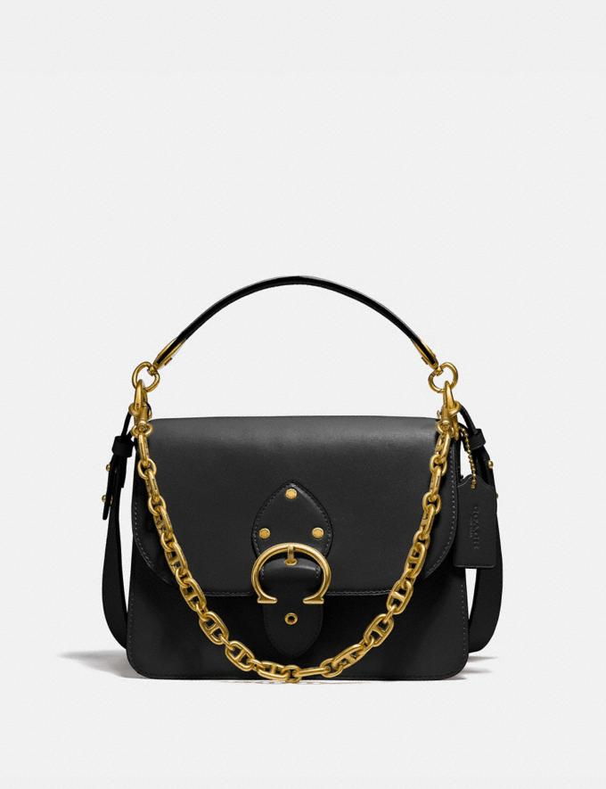 Coach Beat Shoulder Bag Brass/Black
