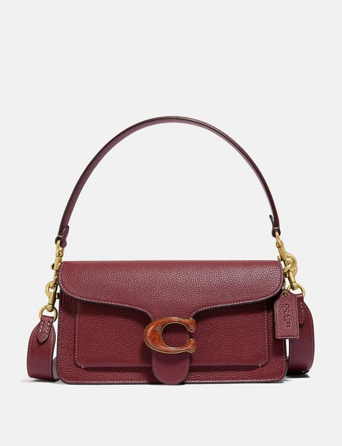 Coach Tabby Shoulder Bag 26 Brass/Wine Personalise For Her Bags