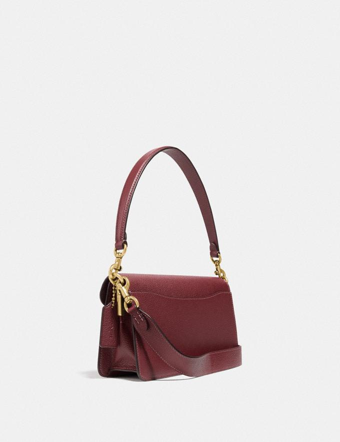 Coach Tabby Shoulder Bag 26 Brass/Wine Personalise For Her Bags Alternate View 1