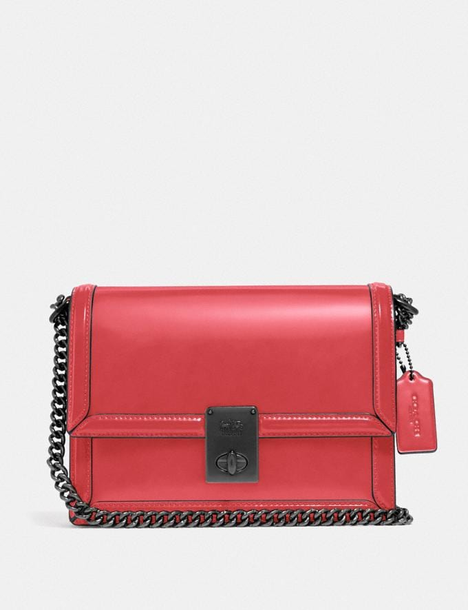 Coach Hutton Shoulder Bag V5/Rouge Cyber Monday For Her Cyber Monday Sale