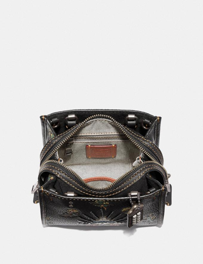 Coach Rogue 17 With Pyramid Eye Black/Pewter  Alternate View 2